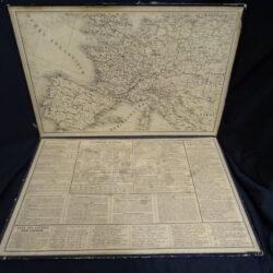 Cartellina Calendario Perpetuo 1872 (ca.)