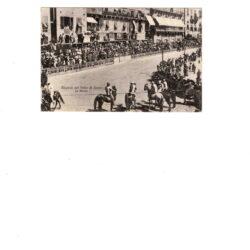 CARTOLINA RICORDO DEL PALIO DI SIENA – LA MOSSA