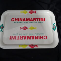 Vassoio China Martini – Martini – Pelliconi – 1970 ca.