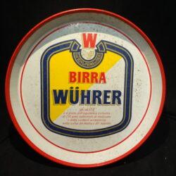 Vassoio Birra Wuhrer – 1980 ca.