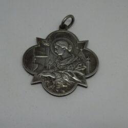 Medaglia Sancta Cecilia Patrona Musicae Sacrae Ora Pro Nobis 1800-1900