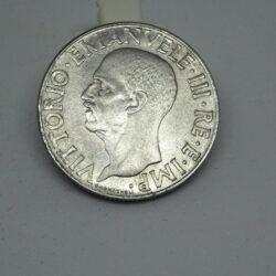 Lira 1943 – 1 Lira Vittorio Emanuele III Aquila XXI