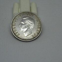 Sud Africa 1942 6 pence George VI