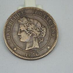 France 1876 10 centetimes – Fraternite Egalite Liberte