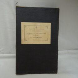 Ferrovie dello Stato – Scuola allievi Fuochisti – Corso elementare – La Locomotiva – Volume IV – Firenze Stabilimento Tipografico G. Civelli 1916