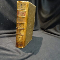 Le opere di Q. Orazio Flacco Nuovamente tradotte Tomo I – Siena 1778 presso Vincenzo Pazzini Carli & Figli