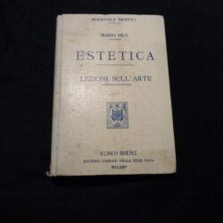 Mario Pilo – Estetica Lezioni sull'arte – Hoepli 1907