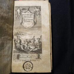 Il Pastor Fido tragicommedia del Signor Cavaliere Battista Guarini Venezia Bartolomeo Roselli 1742