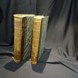 Francesco Forti Libri Due delle Istituzioni civili accomodate all'uso del foro, opera postuma – Firenze Vieusseux 1840-1841 2 volumi