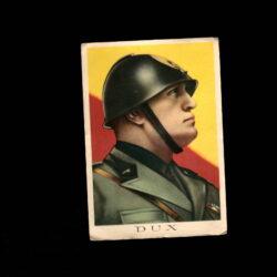 Cartolina DUX Mussolini – Timbro Fascio di Ugnano – PNF