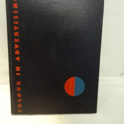 Colour in adventising By Joseph Binder – London The Studio Limited, New York The Studio Publications -1934