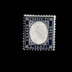 Regno d'Italia 1862 Vittorio Emanuele II 20c