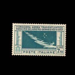 Italia Posta aerea 1930 Crociera Transatlantica Generale Balbo