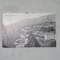 Cartolina Lovere sovrastampata con correzione Sovere – Varietà