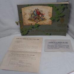 Album della guerra del 1859 – Quinto Cenni – manifesti pubblicitari