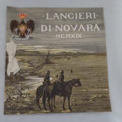 Lancieri di Novara Calendario 1919 – A. Saporetti