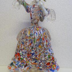 Vetro di Murano Dama Arlecchino – Made in Italy