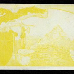 Cartolina 2° reggimento genio zappatori 75° battaglione variante monocromatica