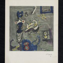 Litografia Moore 71 Henry Moore N° 8 Bolaffiarte – esemplare numerato